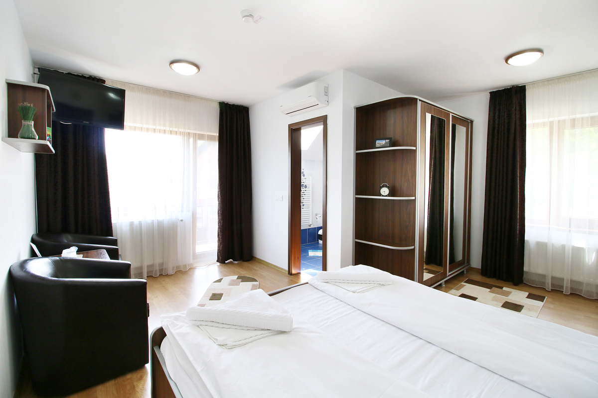 double room in Casa Micu guest house Sibiu