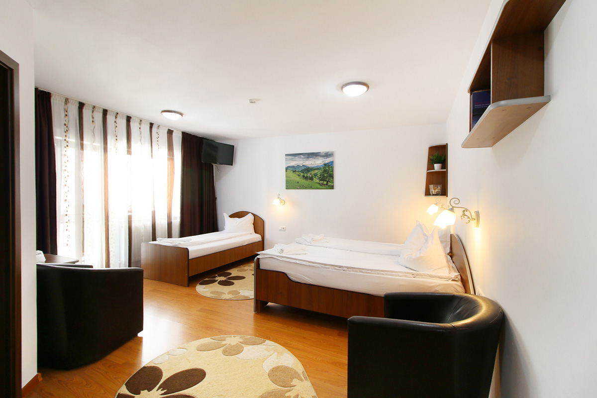triple room in Casa Micu guest house Sibiu